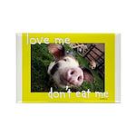 Don't Eat Me Rectangle Magnet (100 pack)