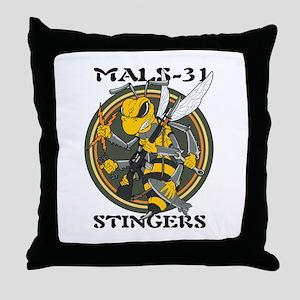 Mals 31 Throw Pillow
