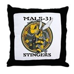 Mals 31 Throw Pillow
