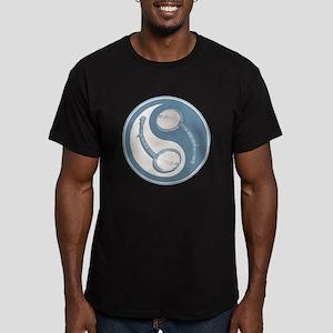 Banjo Yang Men's Fitted T-Shirt (dark)