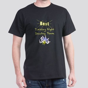 Best Bowling Team Dark T-Shirt