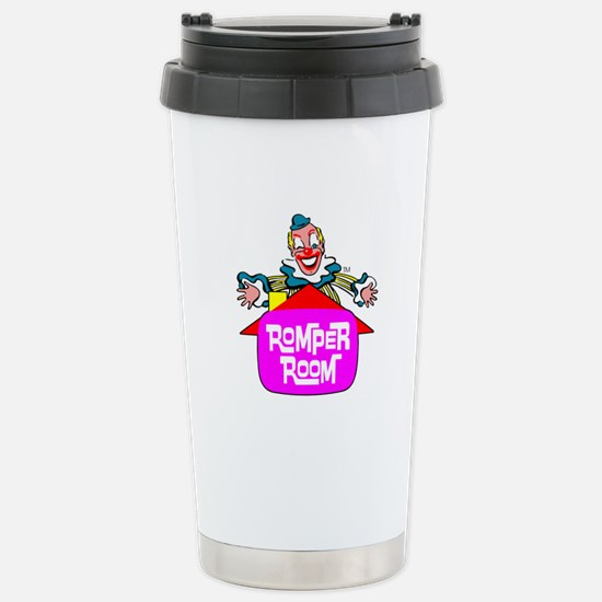 """ROMPER ROOM"" Stainless Steel Travel Mug"