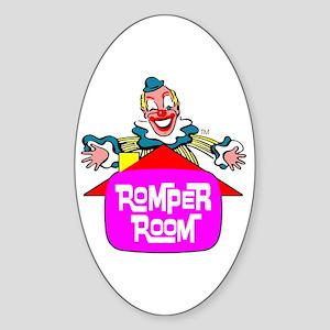 """ROMPER ROOM"" Sticker (Oval)"