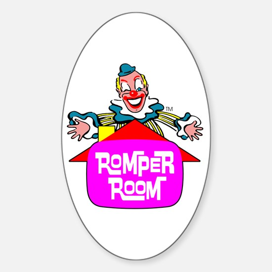 """ROMPER ROOM"" Sticker (Oval)"