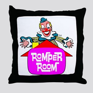 """ROMPER ROOM"" Throw Pillow"