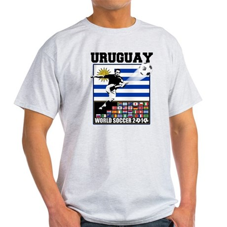 Uruguay World Soccer Futbol Light T-Shirt