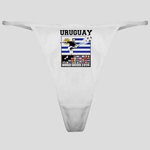 Uruguay World Soccer Futbol Classic Thong