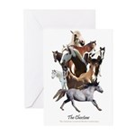 Choctaw Horse Greeting Cards (Pk of 10)