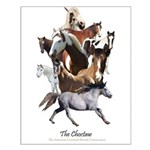 Choctaw Horse Small Poster