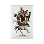Choctaw Horse Rectangle Magnet (10 pack)