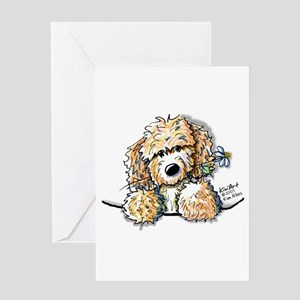 Bailey's Irish Crm Doodle Greeting Card