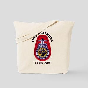 USS Florida SSBN 728 Tote Bag