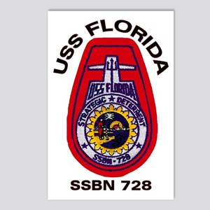 USS Florida SSBN 728 Postcards (Package of 8)