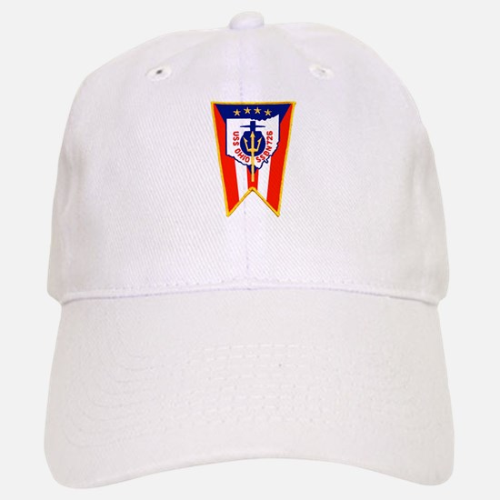 USS Ohio SSBN 726 Baseball Baseball Cap