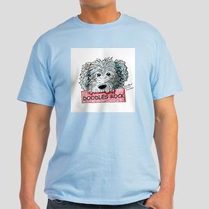 Doodles Rock Sign Light T-Shirt