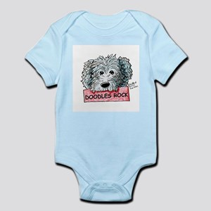 Doodles Rock Sign Infant Bodysuit