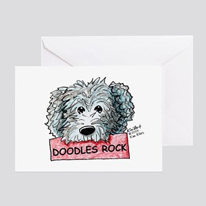 Doodles Rock Sign Greeting Card