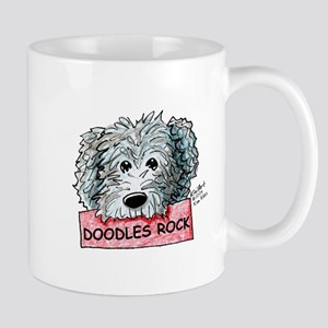 Doodles Rock Sign Mug