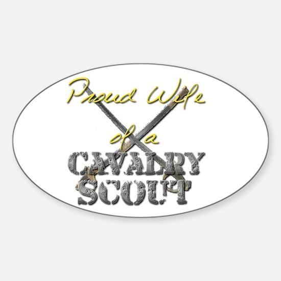 Cute Cavalry scout Sticker (Oval)