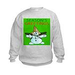 New Orleans Christmas Kids Sweatshirt