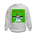 New Orleans Christmas Kids Sweatshirt
