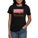 a moment to reflect Women's Dark T-Shirt