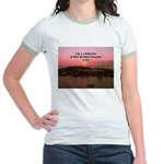 a moment to reflect Jr. Ringer T-Shirt