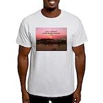 a moment to reflect Light T-Shirt
