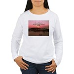 a moment to reflect Women's Long Sleeve T-Shirt
