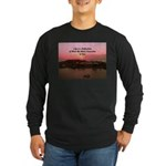 a moment to reflect Long Sleeve Dark T-Shirt