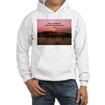 a moment to reflect Hooded Sweatshirt
