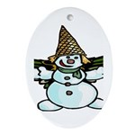 New Orleans Christmas Ornament (Oval)