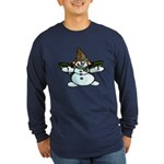 New Orleans Christmas Long Sleeve Dark T-Shirt
