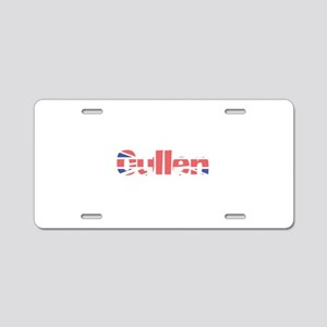 Cullen Aluminum License Plate