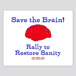 Save the Brain! Small Poster