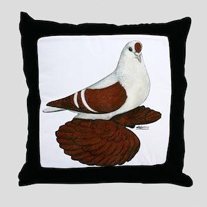 Silesian Swallow Pigeon Throw Pillow