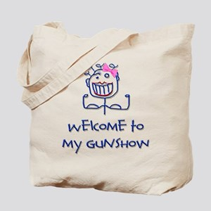 Welcome girl Tote Bag