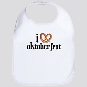 I Pretzel Oktoberfest shirt Bib