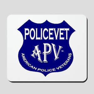 Policevets Shield Mousepad