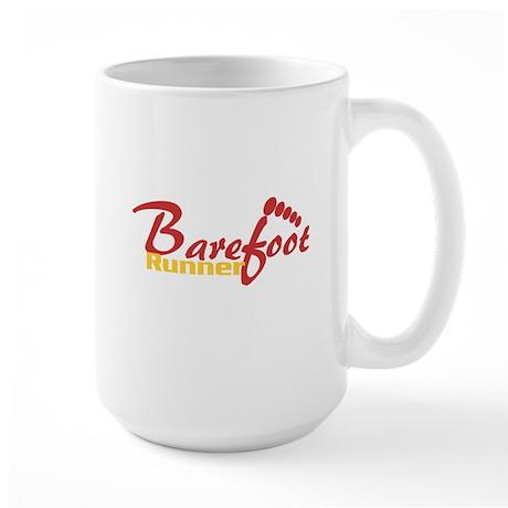 Barefoot Runner Large Mug
