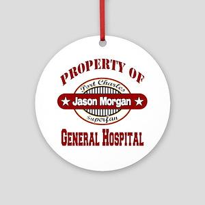 Property of Jason Morgan Ornament (Round)