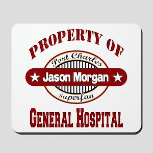 Property of Jason Morgan Mousepad