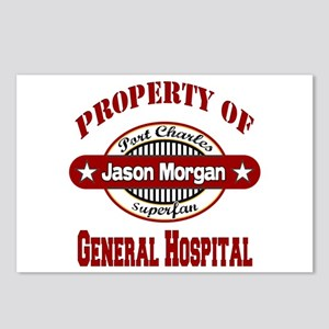 Property of Jason Morgan Postcards (Package of 8)