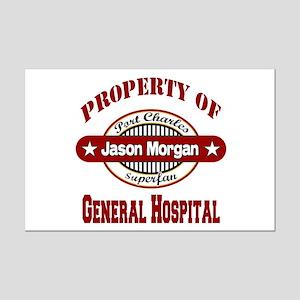 Property of Jason Morgan Mini Poster Print