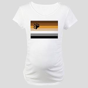 Bear Pride Maternity T-Shirt