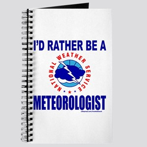 I'D RATHER BE A METEOROLOGIST Journal