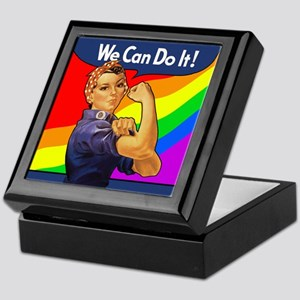 Rainbow Rosie Keepsake Box