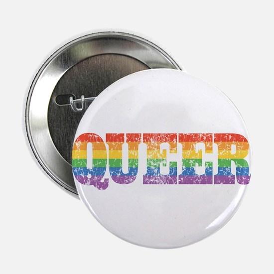 """Retro Queer 2.25"""" Button"""