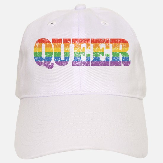 Retro Queer Baseball Baseball Cap
