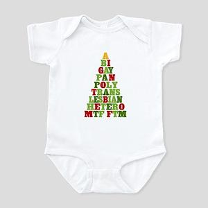 Diversity Holiday Tree Infant Bodysuit